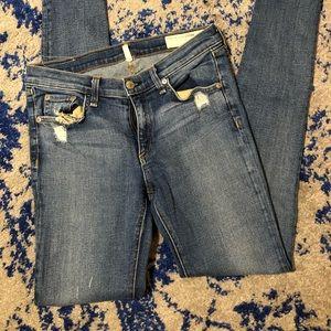 Rag & Bone 'the Skinny' Stretch Jean